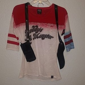 Small Hot Topic Suicide Squad Harley Quinn Cosplay